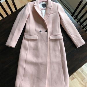 Rare BR Pink Lady Day Coat!!